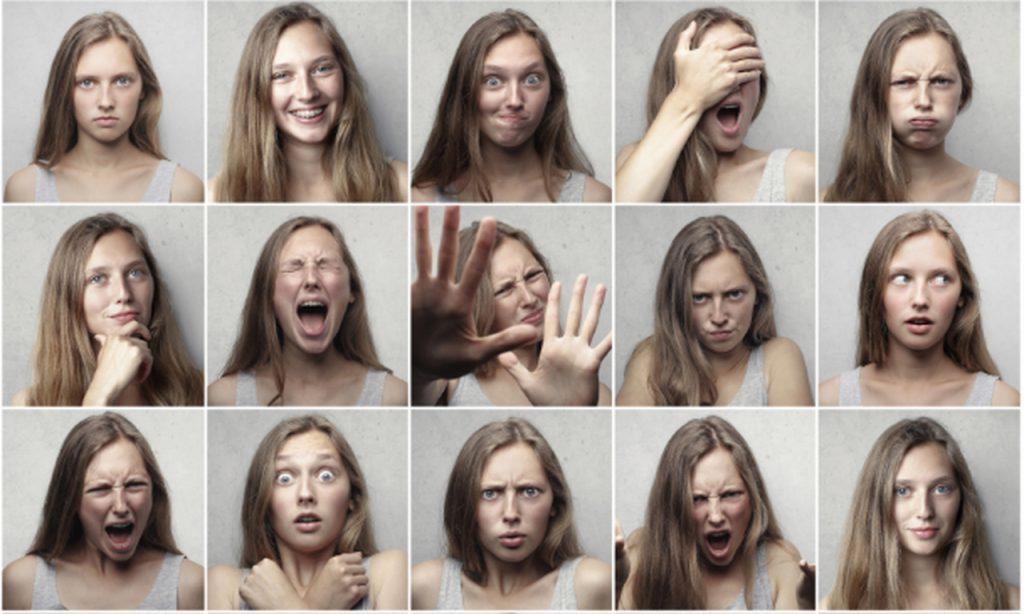 Linguagem Facial media relations bloomcast