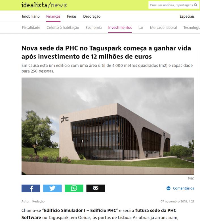 PHC nova sede