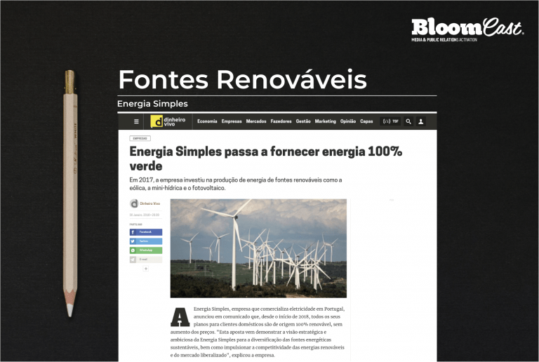 bloomcast consulting energia simples projeto